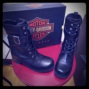 Harley Davidson Combat Boots